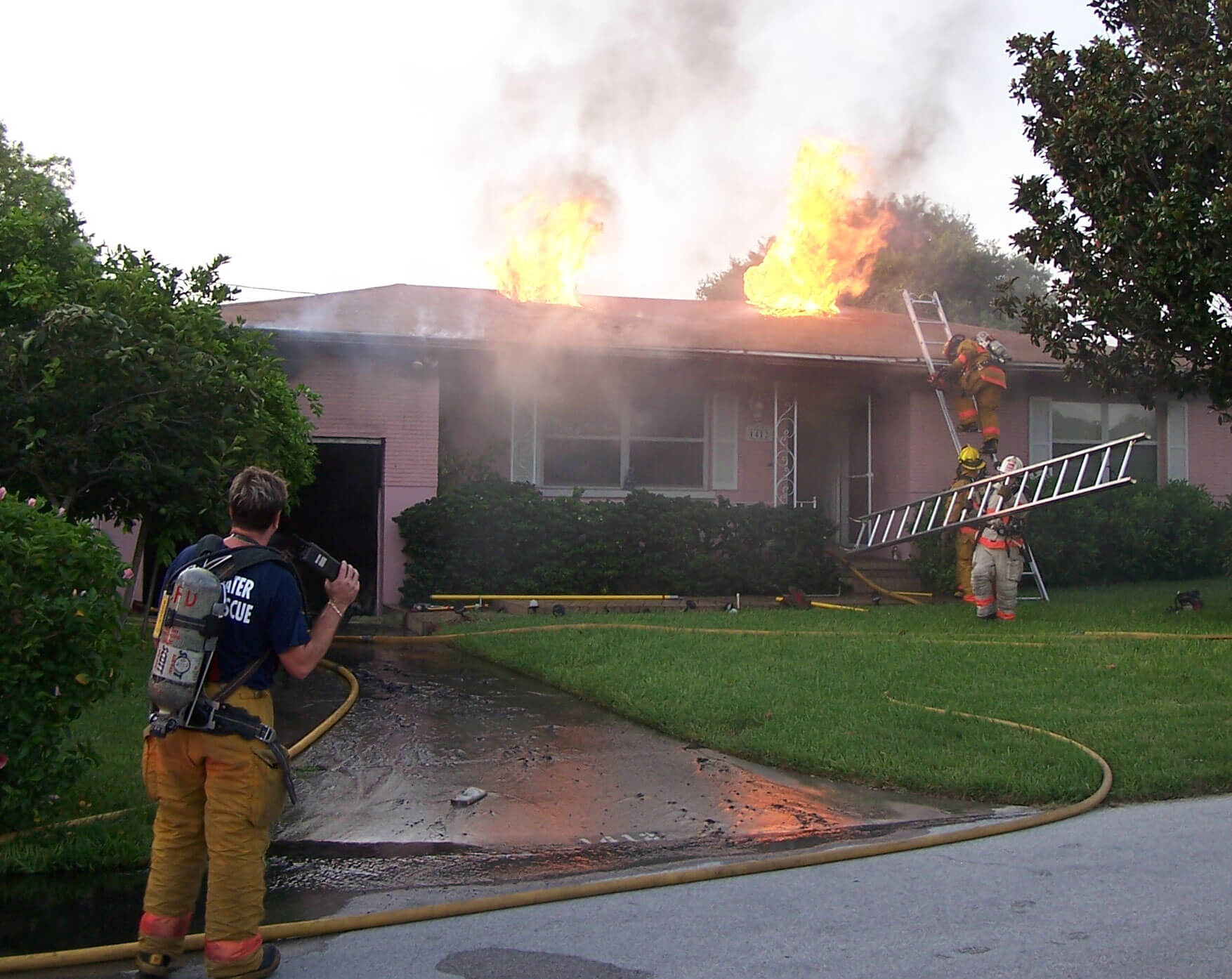 San Diego County Fire Damage Restoration Services